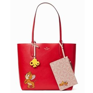Kate Spade x Tom & Jerry Reversible Large Tote